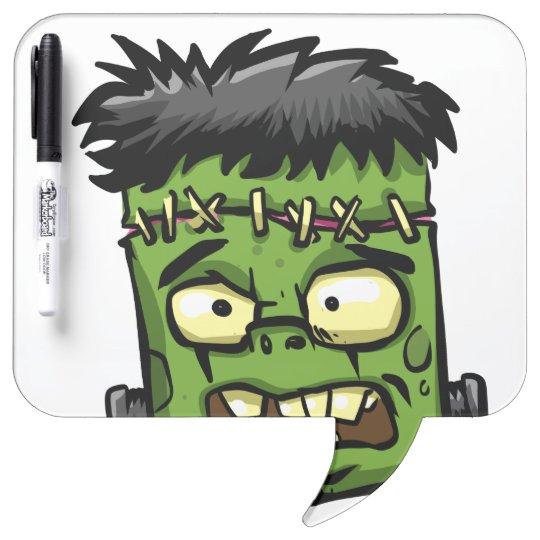 Baby frankenstein - baby frank - frank face dry erase board