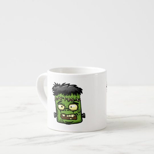 Baby frankenstein - baby frank - frank face espresso cup