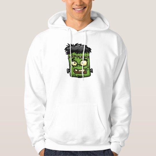 Baby frankenstein - baby frank - frank face hoodie