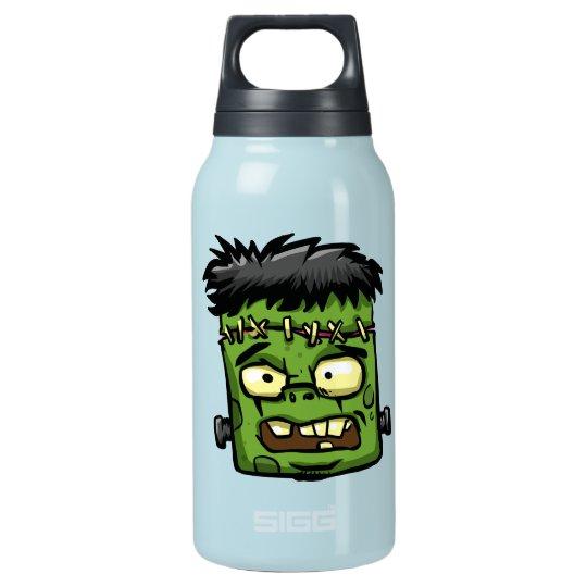 Baby frankenstein - baby frank - frank face insulated water bottle