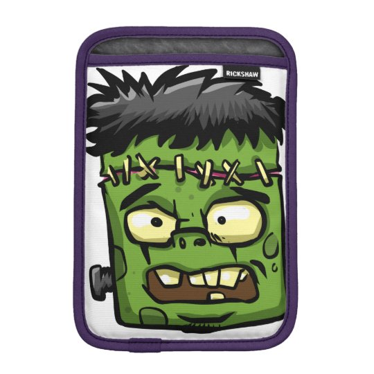 Baby frankenstein - baby frank - frank face iPad mini sleeve