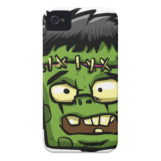 Baby frankenstein - baby frank - frank face iPhone 4 case