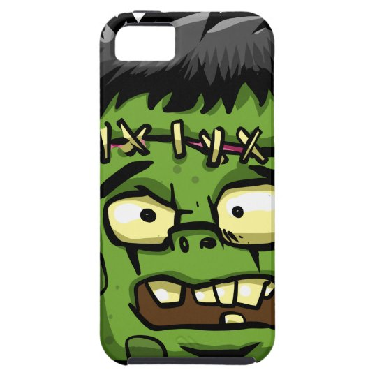 Baby frankenstein - baby frank - frank face iPhone 5 case
