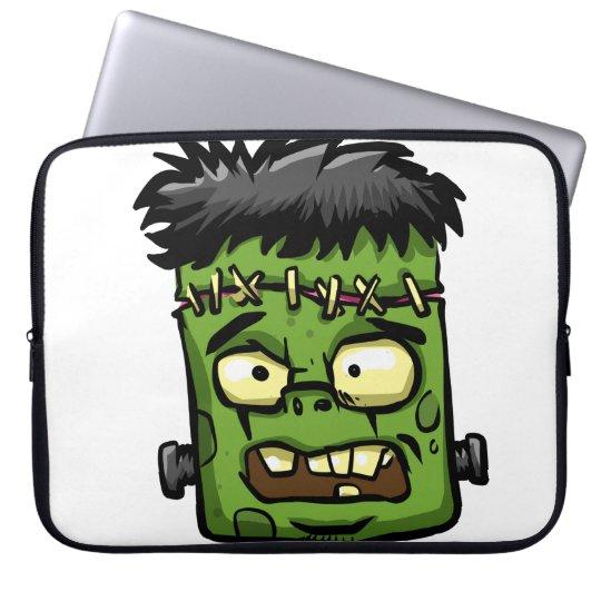 Baby frankenstein - baby frank - frank face laptop sleeve