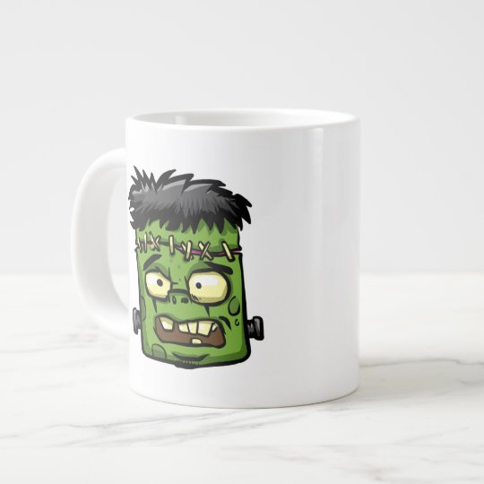 Baby frankenstein - baby frank - frank face large coffee mug