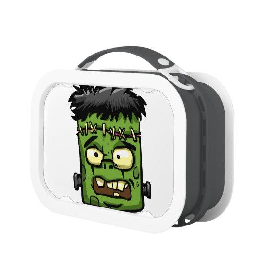 Baby frankenstein - baby frank - frank face lunch box