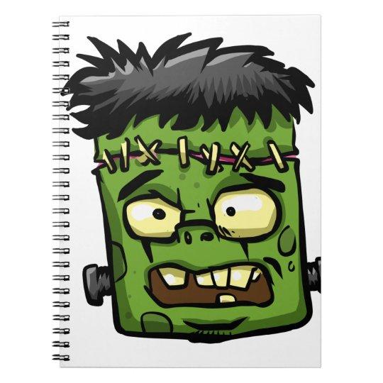 Baby frankenstein - baby frank - frank face notebook