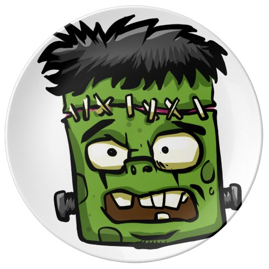 Baby frankenstein - baby frank - frank face plate