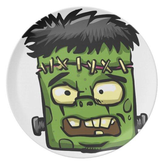 Baby frankenstein - baby frank - frank face plate