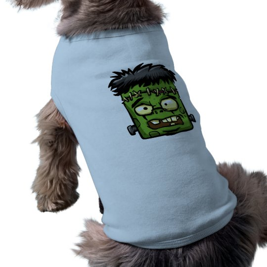 Baby frankenstein - baby frank - frank face shirt