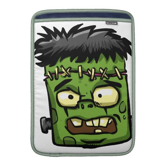 Baby frankenstein - baby frank - frank face sleeve for MacBook air