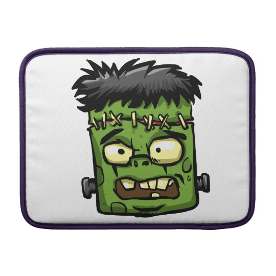 Baby frankenstein - baby frank - frank face sleeve for MacBook air