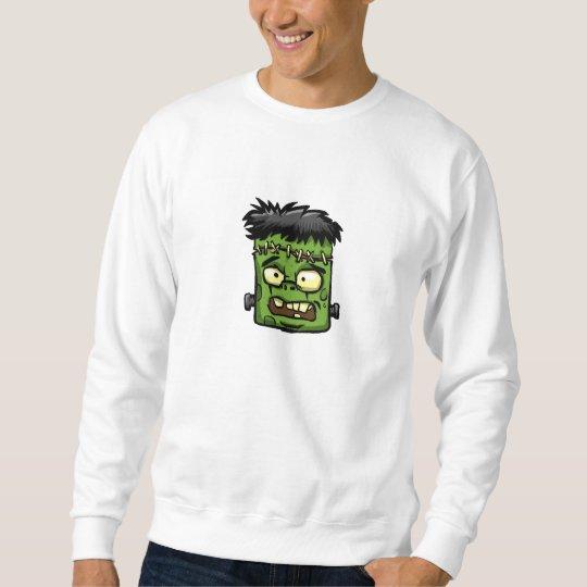 Baby frankenstein - baby frank - frank face sweatshirt