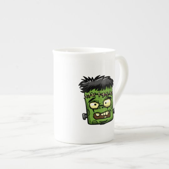 Baby frankenstein - baby frank - frank face tea cup