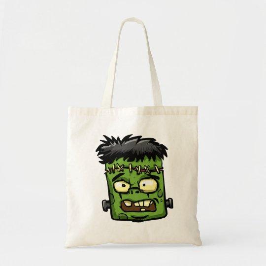 Baby frankenstein - baby frank - frank face tote bag