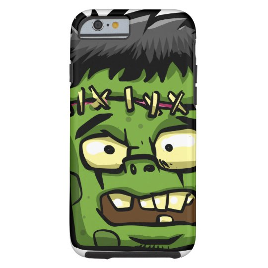 Baby frankenstein - baby frank - frank face tough iPhone 6 case