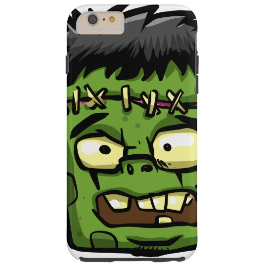 Baby frankenstein - baby frank - frank face tough iPhone 6 plus case