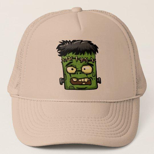 Baby frankenstein - baby frank - frank face trucker hat