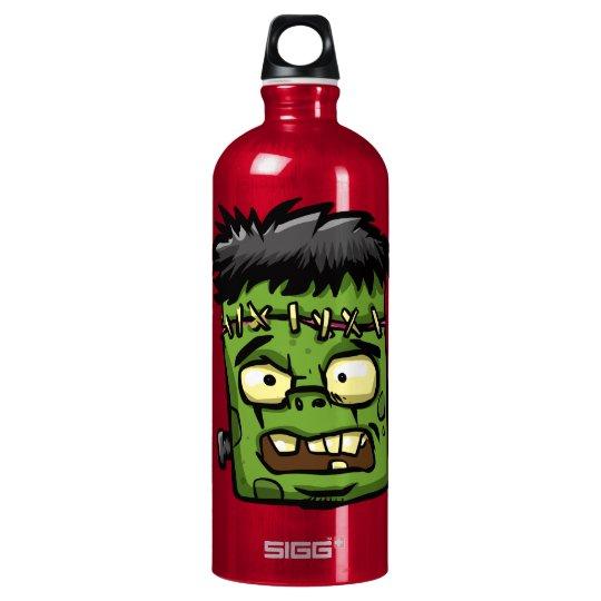 Baby frankenstein - baby frank - frank face water bottle