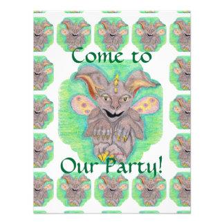 Baby Gargoyle Children s Party Custom Invites