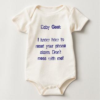 Baby Geek Onesy Smart Kids Fun Funny Babies Baby Bodysuit