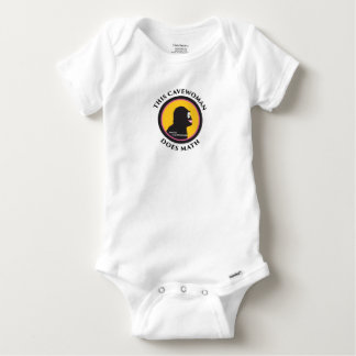 Baby Gerber Cotton This Smart Cavewoman Does Math Baby Onesie