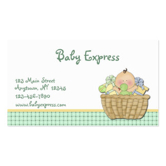 Baby Gift Basket Business Card