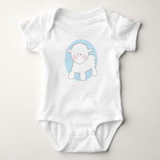 Baby Gift - Little Lamb Baby Bodysuit