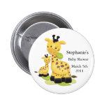 Baby Giraffe Baby Button