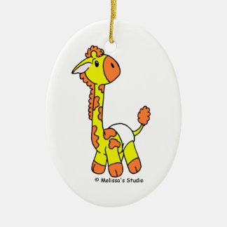 Baby Giraffe (Baby's First Christmas) Christmas Ornament