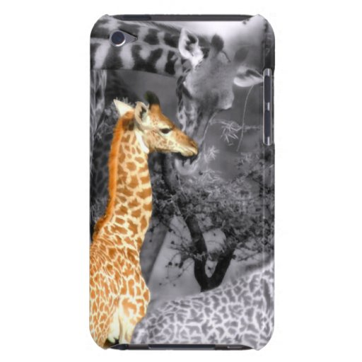 Baby Giraffe Barely There iPod Cover