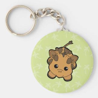 Baby Giraffe Cutie Key Ring