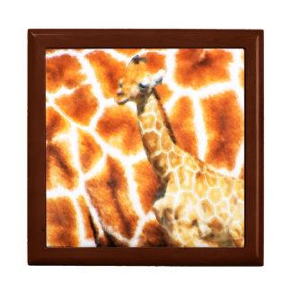 Baby Giraffe Gift Box