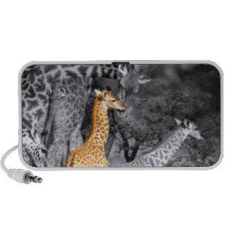 Baby Giraffe Notebook Speakers