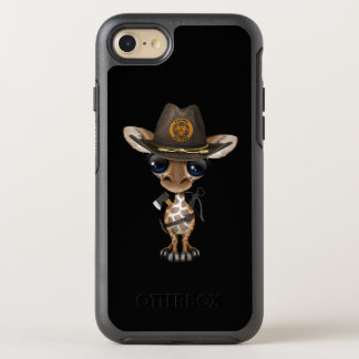 Baby Giraffe Zombie Hunter OtterBox Symmetry iPhone 8/7 Case