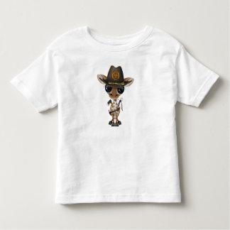 Baby Giraffe Zombie Hunter Toddler T-Shirt