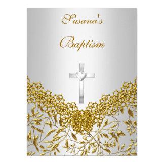 "Baby Girl Baby Boy Baptism Invitation 6.5"" X 8.75"" Invitation Card"