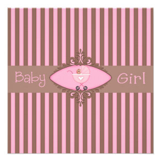 Baby Girl Baby Shower Invitation