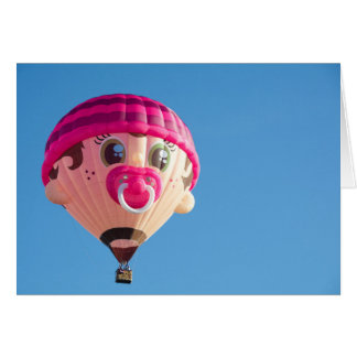 Baby Girl Balloon Card