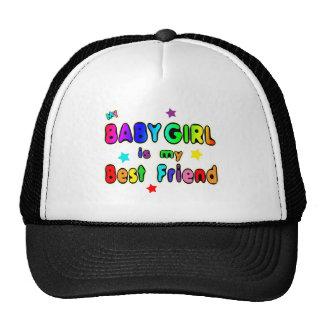Baby Girl Best Friend Trucker Hats