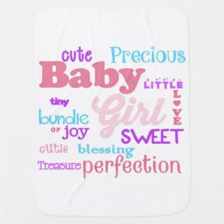 Baby Girl Blanket Pramblanket