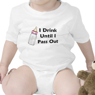 Baby Girl Bottle Shirts