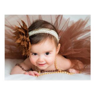 Baby Girl Congratulations Postcard