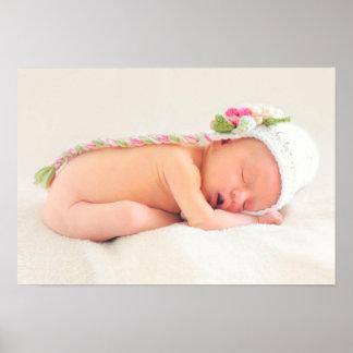 Baby Girl Congratulations Poster