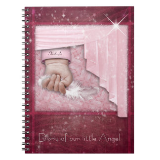 Baby Girl Diary Spiral Notebook
