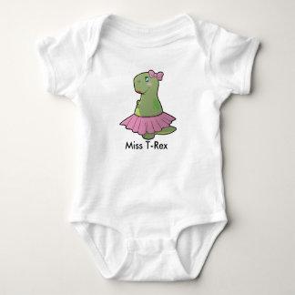 Baby Girl Dinosaur Miss T-Rex Bodysuit