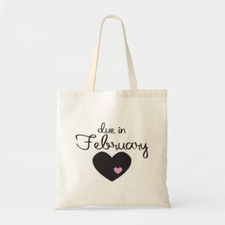 Baby Girl due in February Tote Bag