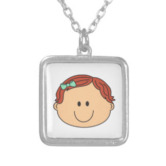 BABY GIRL FACE NECKLACE