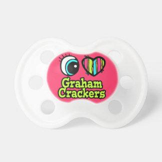baby girl i love eye heart graham crackers dummy