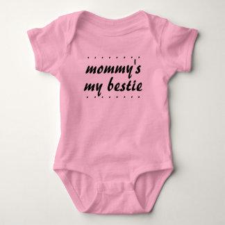 Baby Girl Mother Daughter Mommy's my Bestie BFF Baby Bodysuit